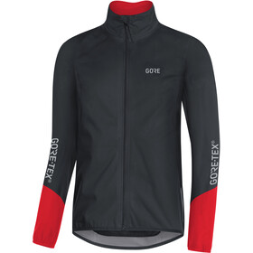 GORE WEAR C5 Gore-Tex Active Jakke Herrer, black/red
